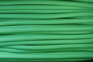Textile cable Green Z32 braided 2x0.75 and 3x0.75mm2